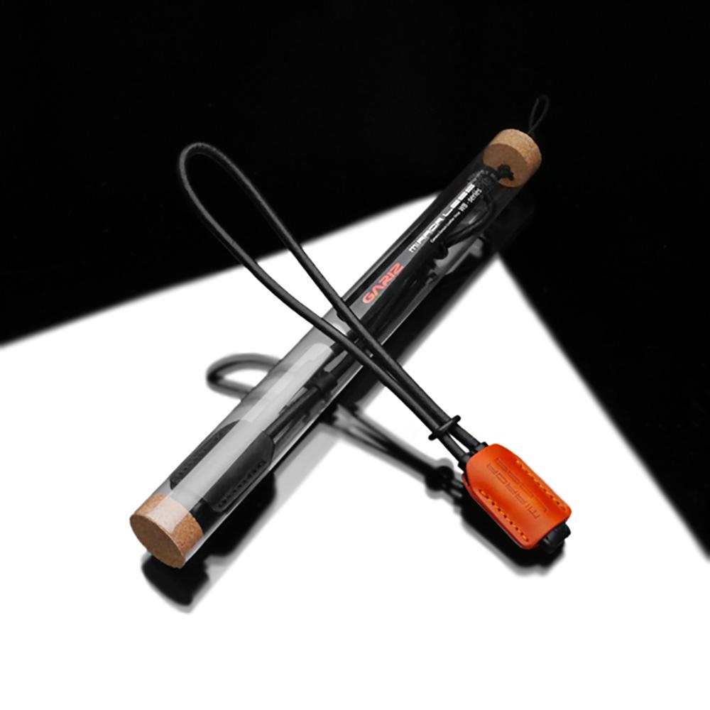 GARIZ 本革カメラリストストラップ XS-WBL8 オレンジ