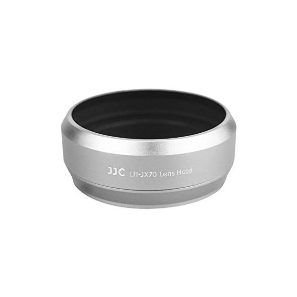 JJC FUJIFILM X70 専用レンズフード シルバー LH-JX70(FUJIFILM LH-X70 互換)