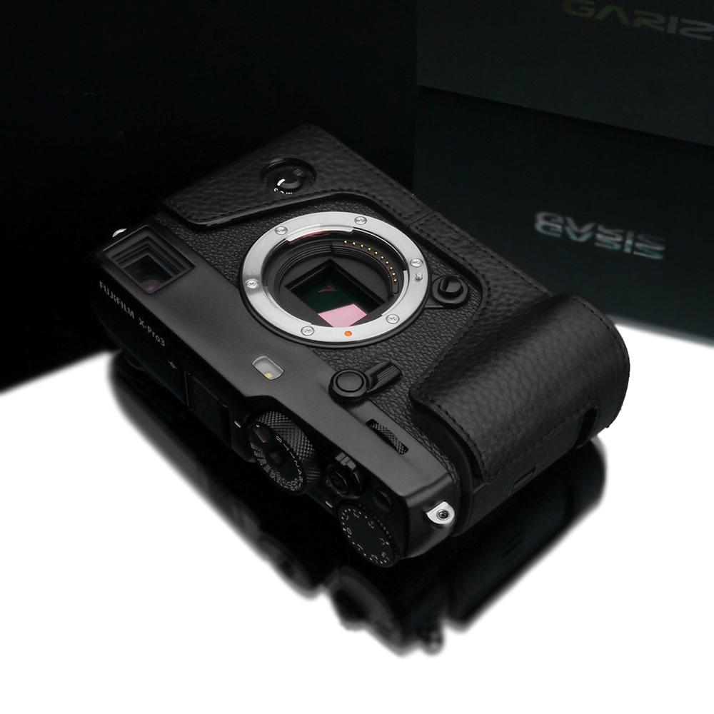 GARIZ FUJIFILM X-Pro3用 本革カメラケース XS-CHXP3BK ブラック