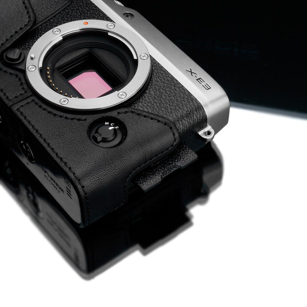 GARIZ FUJIFILM X-E3用 本革カメラケース XS-CHXE3BK ブラック