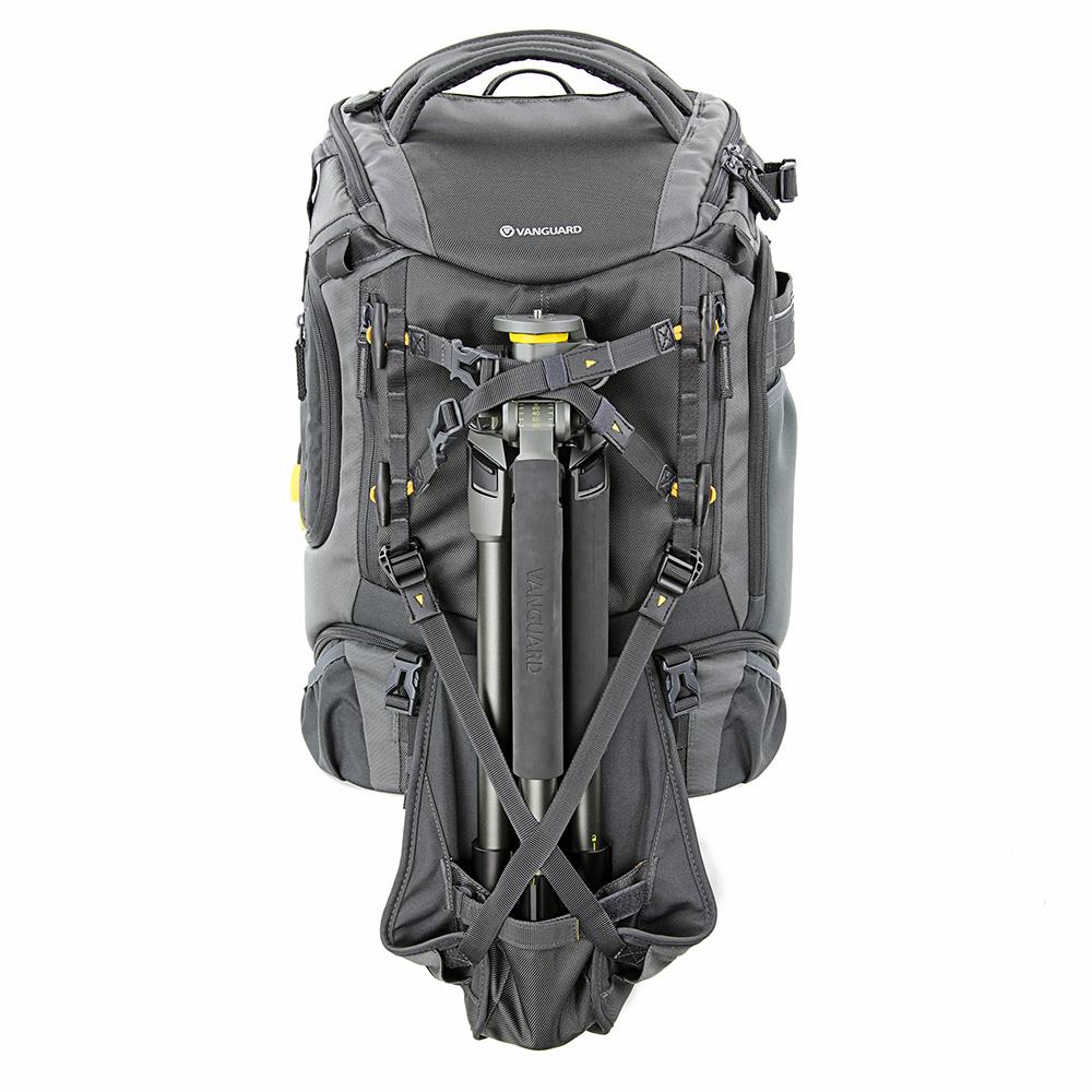 VANGUARD カメラリュック ALTA コレクション 32L 15インチPC収納可 ドローン収納可 三脚ホルダー内蔵 イヤホンケーブル専用ポート有 グレー ALTA SKY 51D