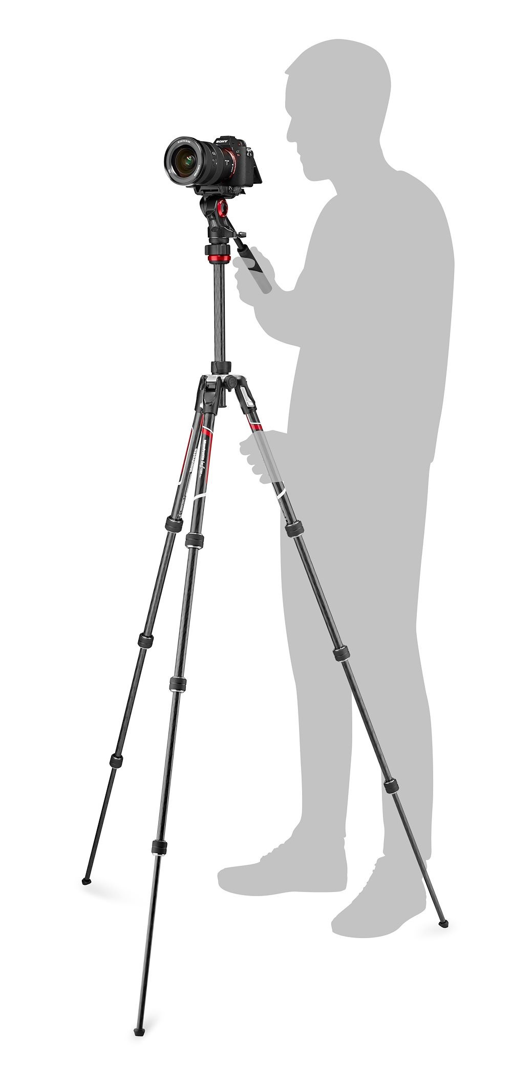 Manfrotto befree live カーボンT三脚ビデオ雲台キット MVKBFRTC-LIVE