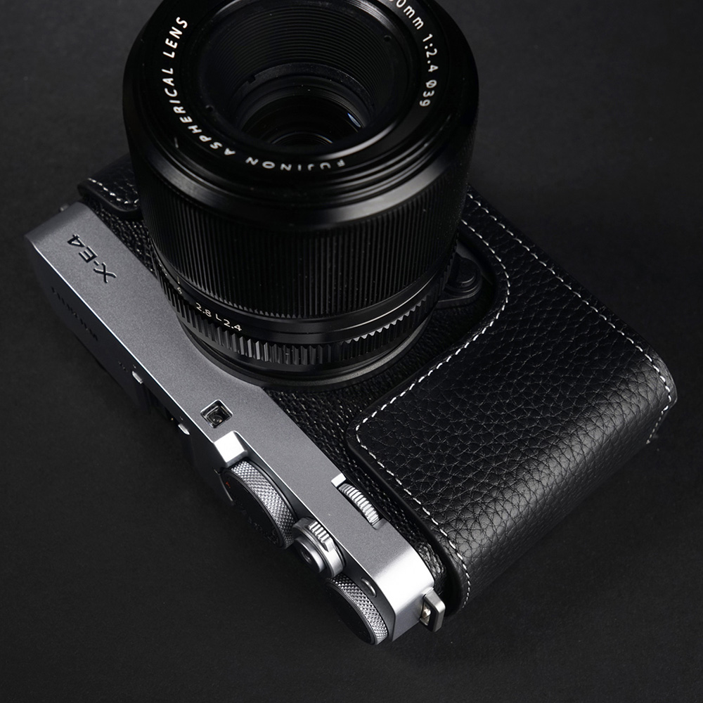 TP Original FUJIFIFILM X-E4 用 ボディーハーフケース ブラック