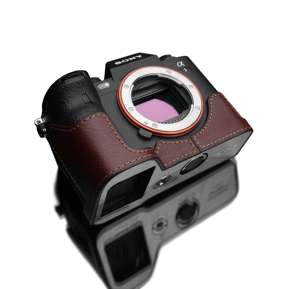 GARIZ SONY α1 用 本革カメラケース XS-CHA1BR ブラウン