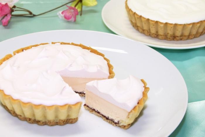 【13%OFF】雪どけチーズケーキ (白桃) とふらのチーズケーキ各2個セット