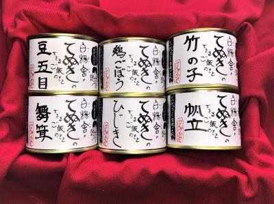 てぬきのできるご飯のもと6缶セット