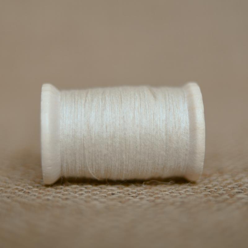 真面綿DIYキット ミシン糸 (ウガンダオーガニックコットン100%)