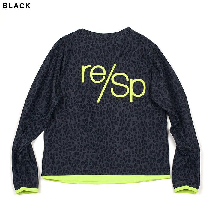 RESP レオパードレイヤーロンTee 09rscs-01
