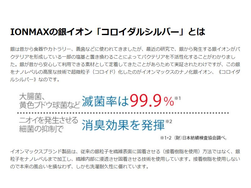 IONMAXシルベーラソープ 100g
