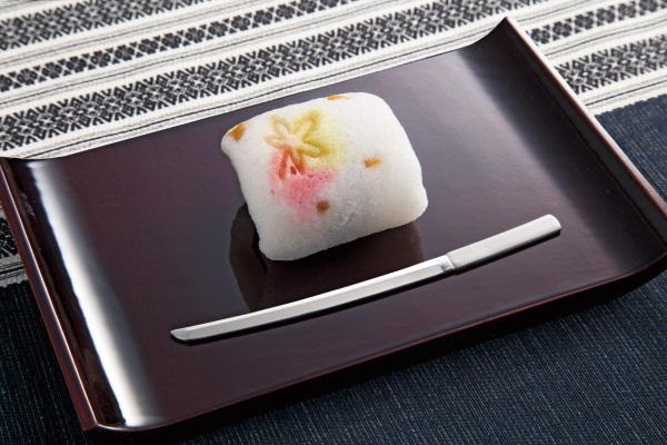 ステンレス菓子楊枝 (太刀型)