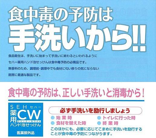 セハー 薬用泡ハンド石鹸CW(クリーミーホワイト)詰替え2L