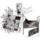 クロトン ブッシュ&ファイヤー モデル FRAME20W1 ホワイト