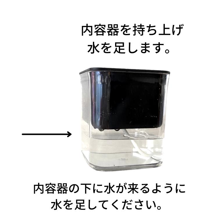 シンプル おしゃれ お手入れ楽らく イージーポット Hシリーズ ブラック