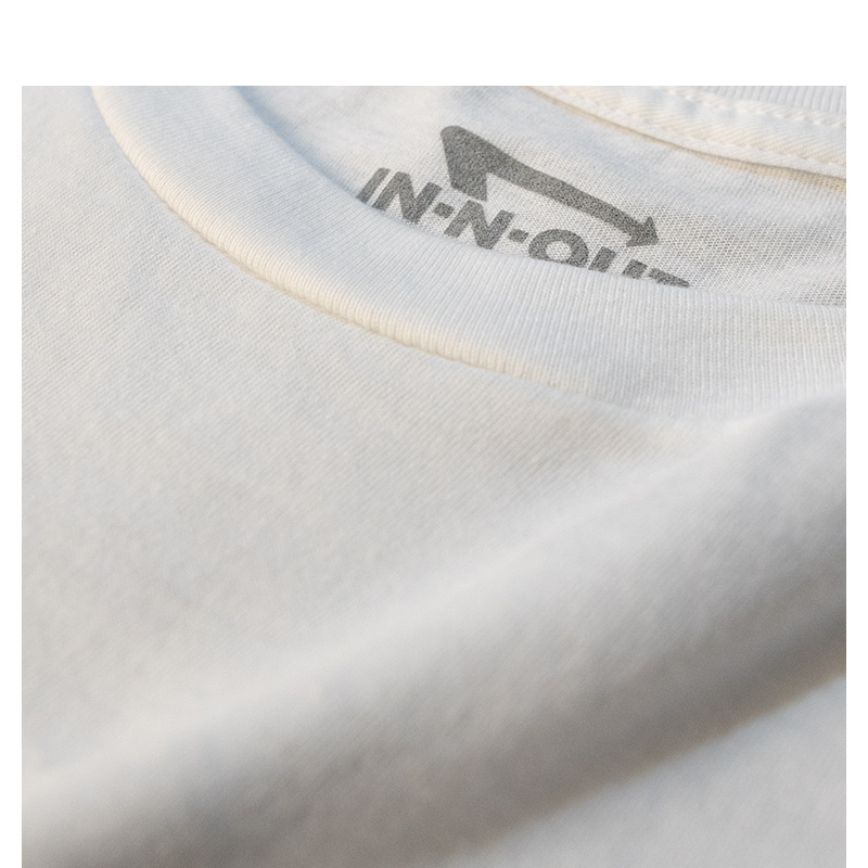 In-N-Out White Pocket Tee