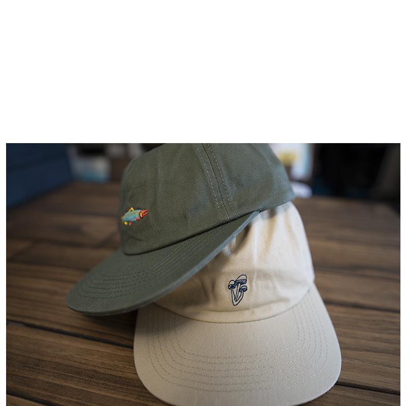 Mollusk Mushroom Polo Hat