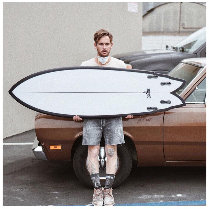 "DASH Surfboards Sphinx 5'6"""
