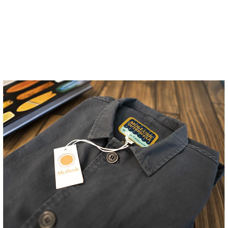 Mollusk Deck Jacket Faded Navy