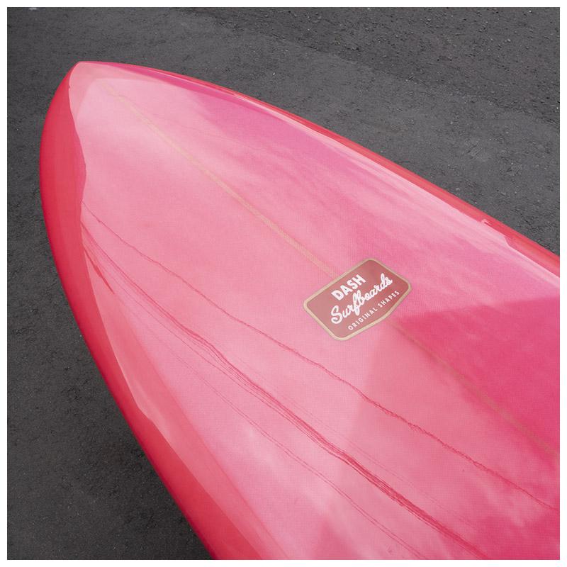 "DASH Surfboards Swan 7'2"""