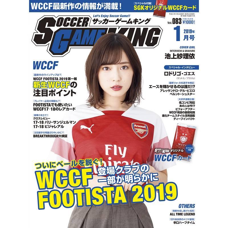【送料無料/クロネコDM便配送】サッカーゲームキング 2019年1月号