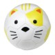 FOOTBALL ZOO baby ふわふわクッションボール 1号球 ネコ