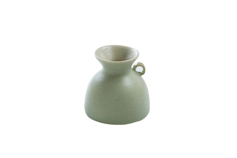 小さな花器・葉(Green)