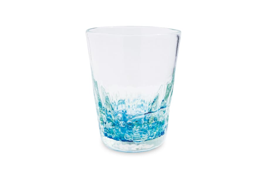 海の色のグラス