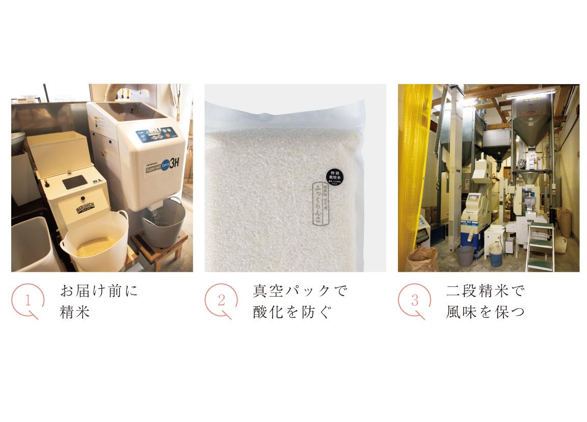 特別栽培米真空パック2kg×2(ななつぼし)