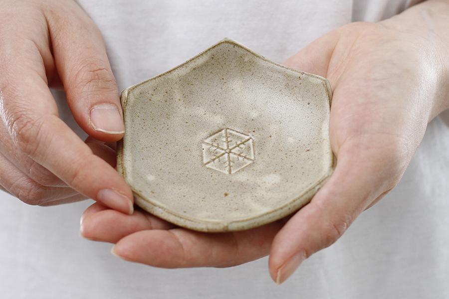 雪小紋の小皿・豆皿セット