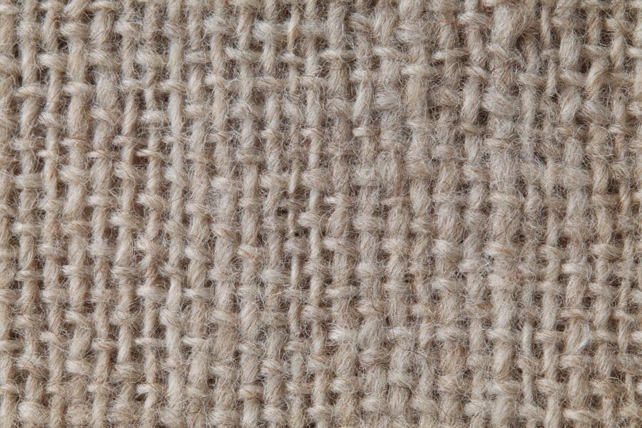 手紡ぎ糸のマフラー