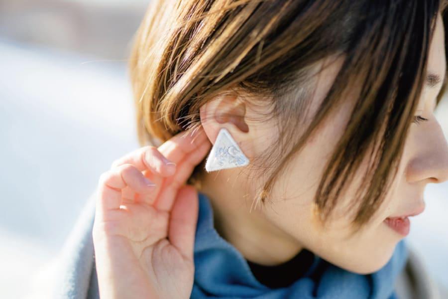 耳飾り sankaku