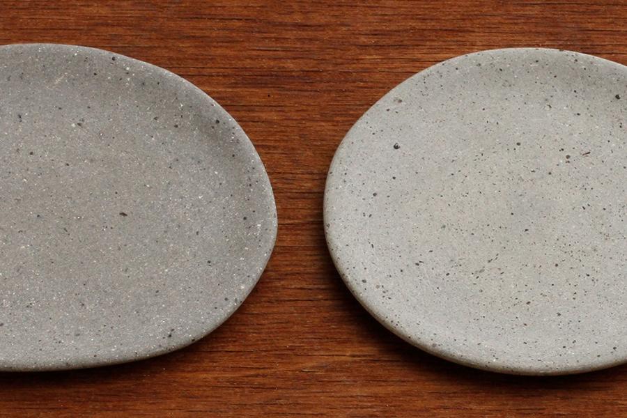石の器 大きな楕円皿