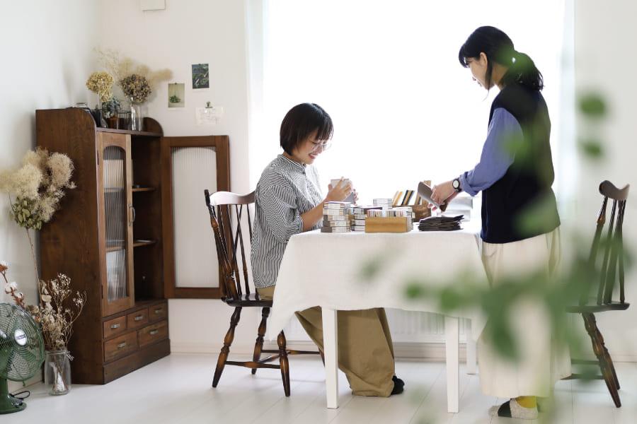 【春の贈り物展】北海道の野の花レターセット