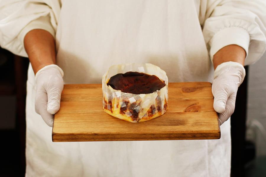 焦がしチーズケーキ