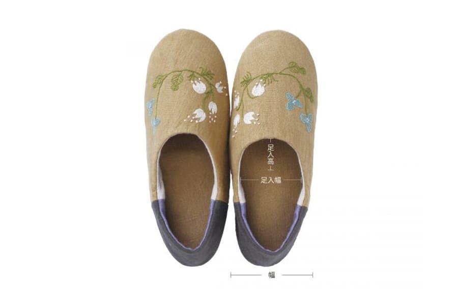 洗える野の花バブーシュ≪S〜Lサイズ≫