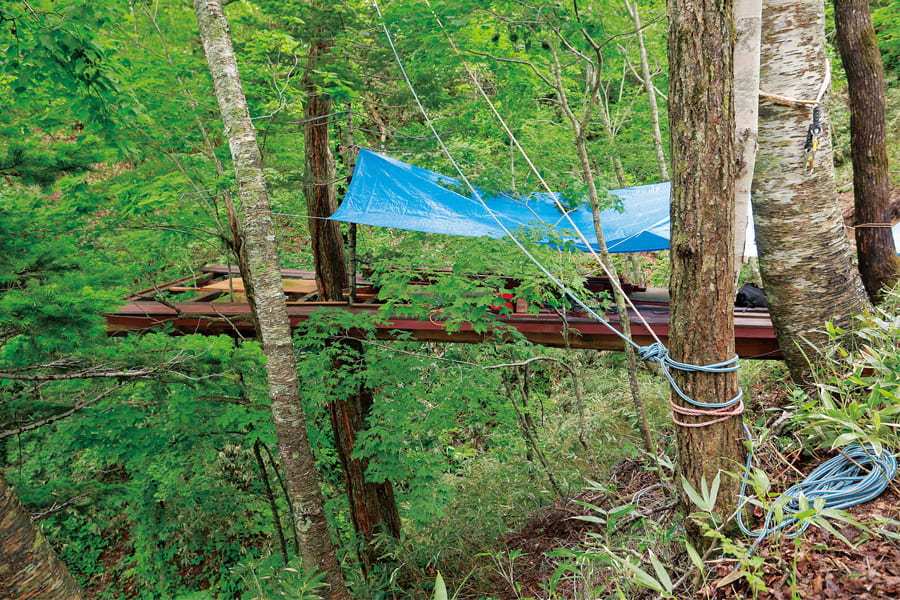 森のペンダント
