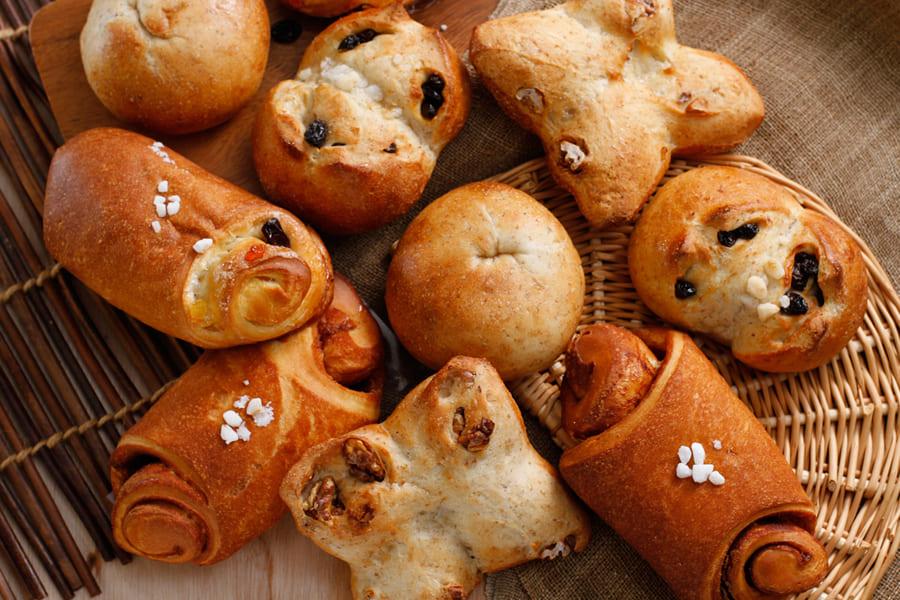 富良野産小麦が香る手作りパン