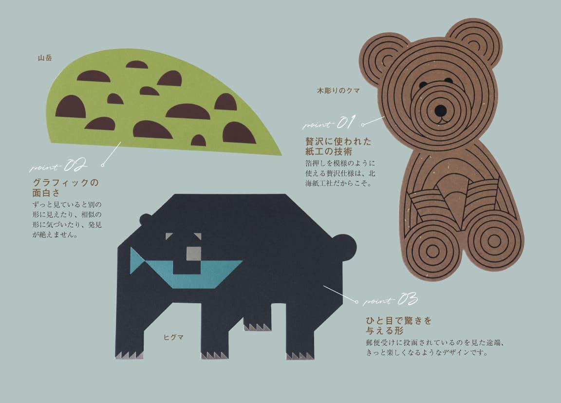 夏の北海道ポストカード
