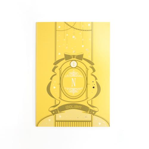 アイドリッシュセブン 〜スターリボンステーショナリー〜 A6ノート 6.六弥 ナギ