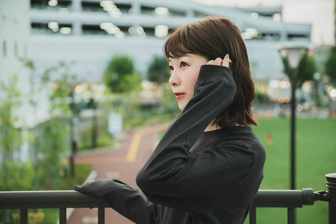 ろんぐてぃーしゃつ(ホワイト、SUMI)