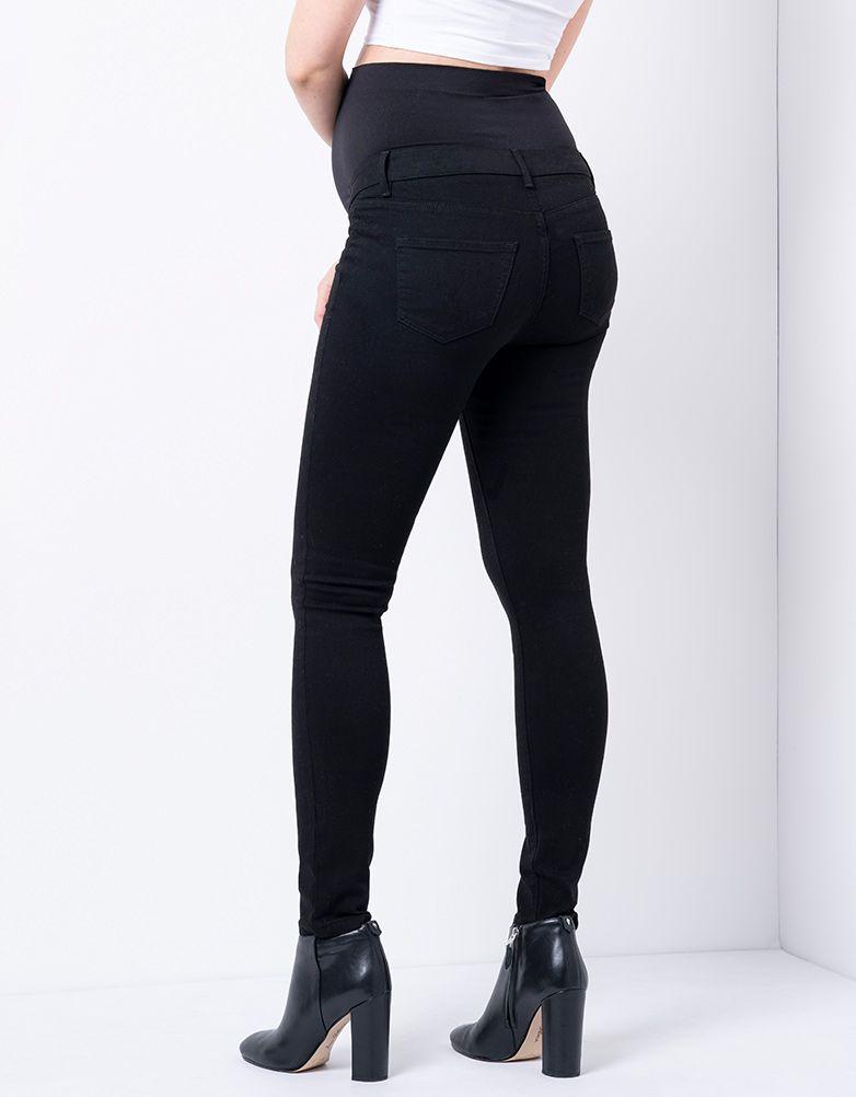 Seraphine FREDDIE OB オーバーバンプオーガニックマタニティジーンズ -ブラック