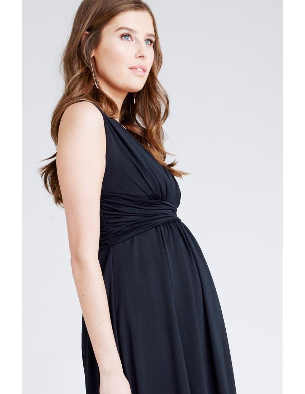 RIPE maternity レイチェルワンピース -ブラック