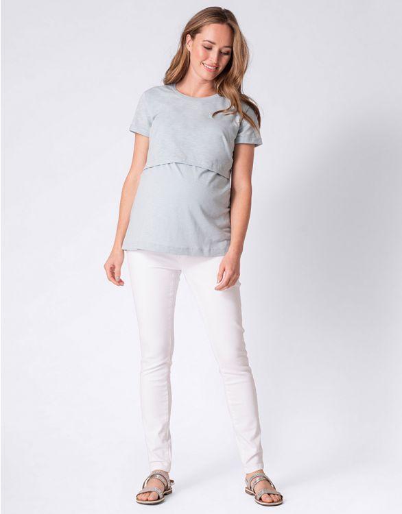 Seraphine LULU <授乳対応>マタニティティシャツ -セージ