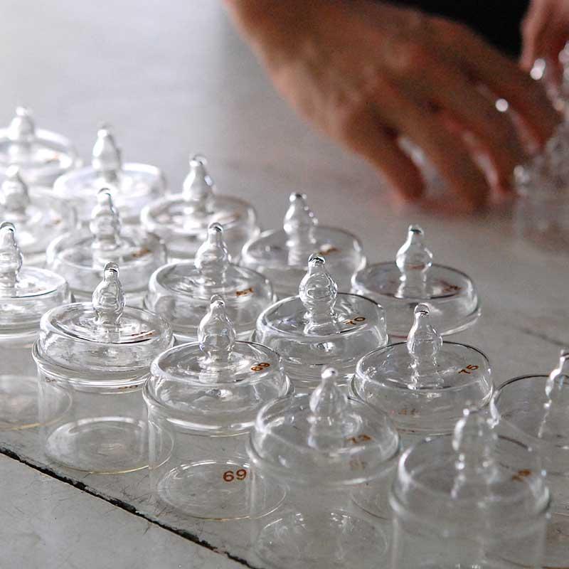 glass / 秤量瓶(磨りガラスなし)
