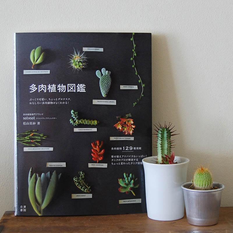 書籍solxsol 多肉植物図鑑