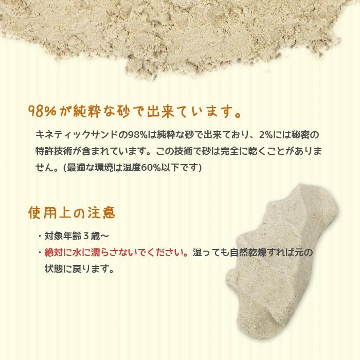 【送料無料】 キネティックサンド kinetic Sand 5kg 室内用お砂遊び