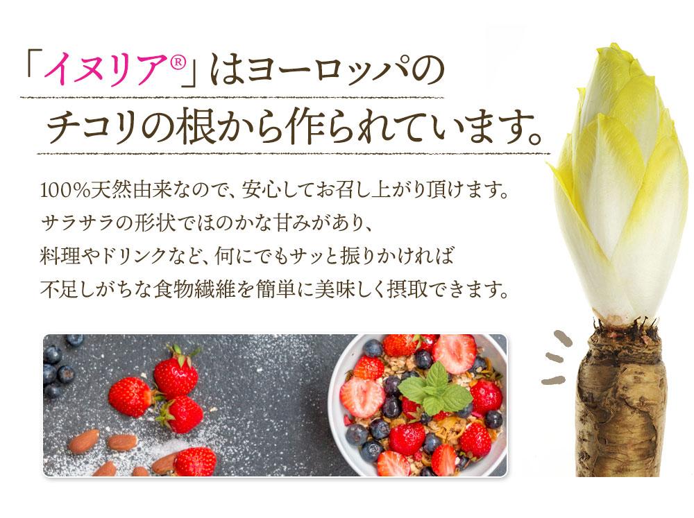 イヌリン 550g イヌリア 菊芋 粉末 水溶性 食物繊維 サプリメント サプリ 天然 腸活 発酵 送料無料