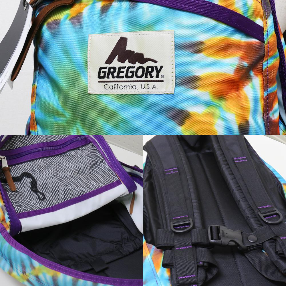 【送料無料】【即納】GREGORY×Dancing Barefoot(グレゴリー×ダンシング ベアフット)DAY PACK (BARE FOOT TIE DYE) バッグ リュックサック  バックパック