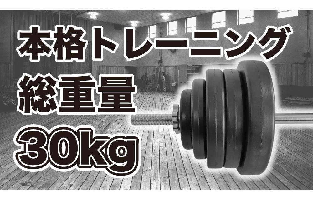 バーベル セット 30kg シャフト 筋トレ トレーニング 腹筋 肩トレ ダンベル トレーニング フィットネス トレーニングベンチ プレート パーツ riores リオレス 送料無料 あす楽