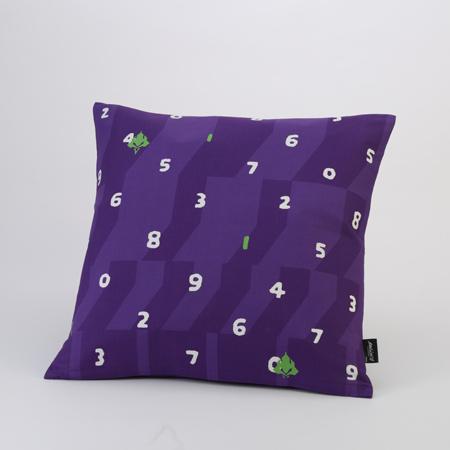 EVANGELION Cushion (textile design by SOU・SOU) 初号機