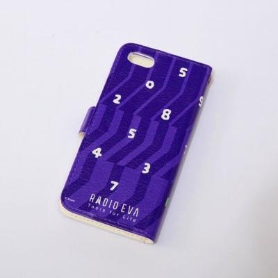 EVANGELION  iPhone 5/5S Diary Case (textile design by SOU・SOU) 初号機